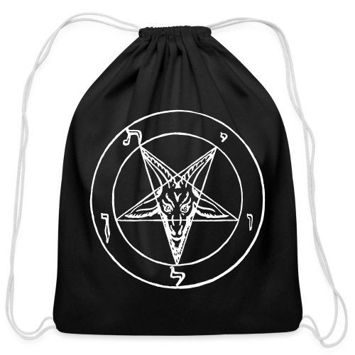 Maurice Bessy's Sigil of Baphomet - Cotton Drawstring Bag
