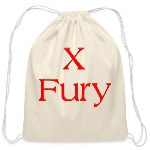 X Fury - Cotton Drawstring Bag