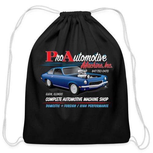 ProAutoTeeDesign062317fin - Cotton Drawstring Bag