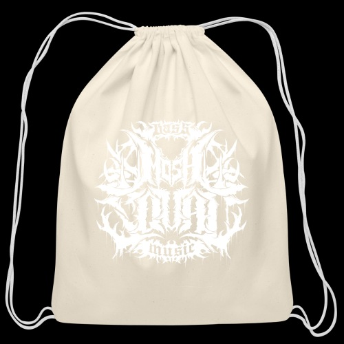 Mosh Squad Logo Merch - Cotton Drawstring Bag