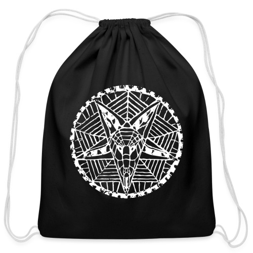 Corpsewood Baphomet - Cotton Drawstring Bag