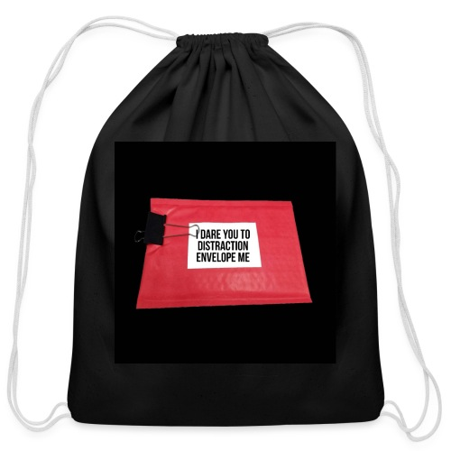 Distraction Envelope - Cotton Drawstring Bag