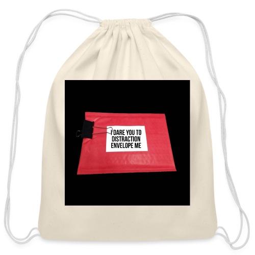 Distraction Envelope - Cotton Drawstring Bag