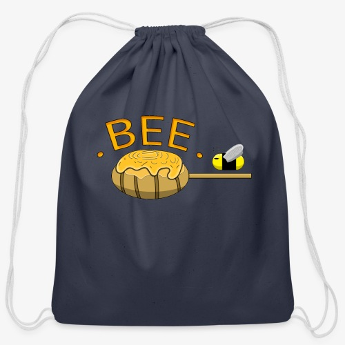 Bee design - Cotton Drawstring Bag