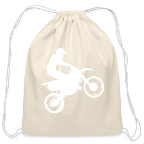 Motocross - Cotton Drawstring Bag
