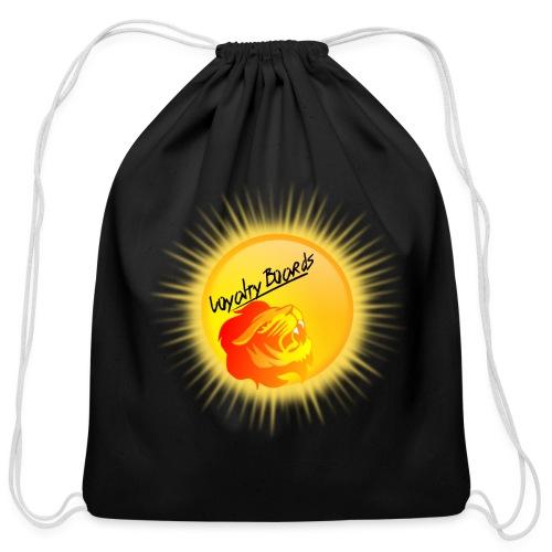 LoyaltyBoardsNewLogo 10000 - Cotton Drawstring Bag