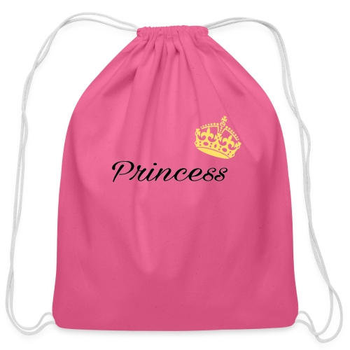 Princess - Cotton Drawstring Bag