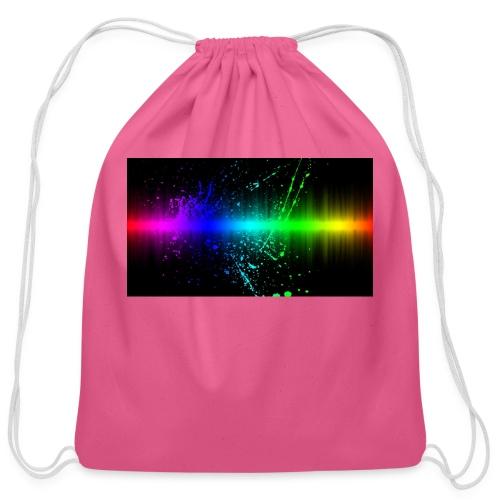 Keep It Real - Cotton Drawstring Bag