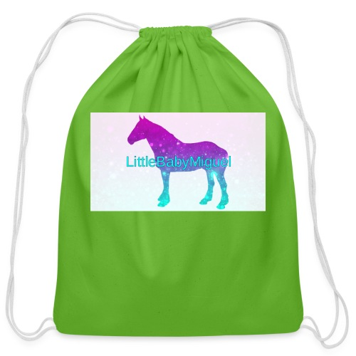 LittleBabyMiguel Products - Cotton Drawstring Bag