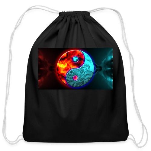 YIN N YANG - Cotton Drawstring Bag