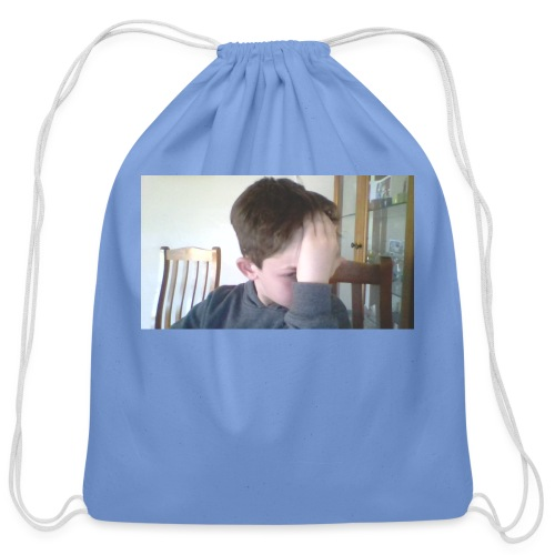 Luiz FAce!! - Cotton Drawstring Bag