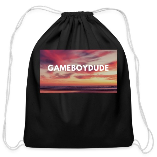 GameBoyDude merch store - Cotton Drawstring Bag