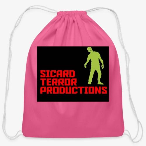 Sicard Terror Productions Merchandise - Cotton Drawstring Bag