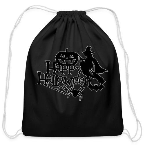 Happy Halloween - Cotton Drawstring Bag