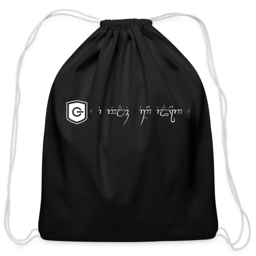 The Loving Heart of an Elf - Cotton Drawstring Bag