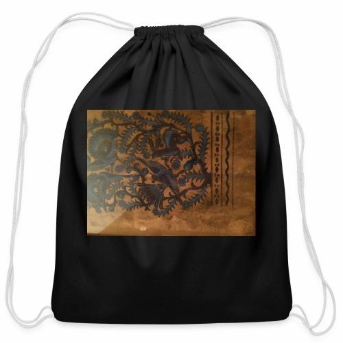 Dilfliremanspiderdoghappynessdogslikeitverymuchtha - Cotton Drawstring Bag