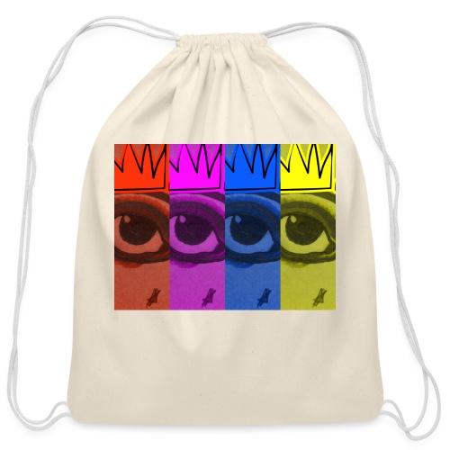 Eye Queen - Cotton Drawstring Bag