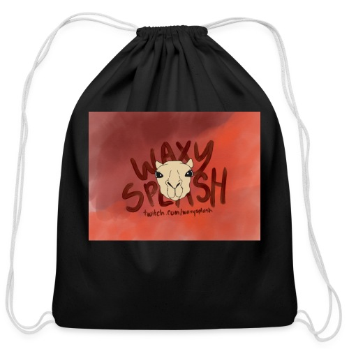 Waxy Red Logo - Cotton Drawstring Bag