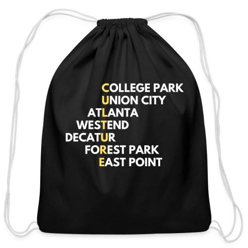 Culture Atlanta - Cotton Drawstring Bag