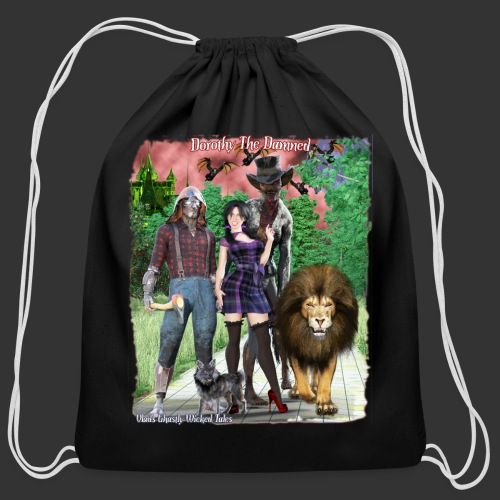 Ghastly Wicked Tales Vampire Dorothy The Damned - Cotton Drawstring Bag