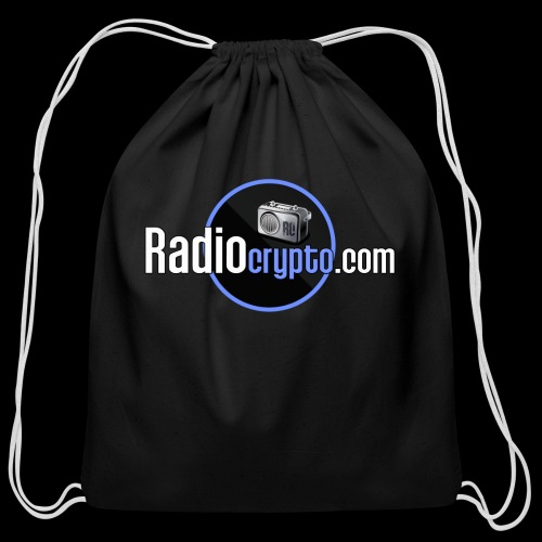RadioCrypto Logo 1 - Cotton Drawstring Bag
