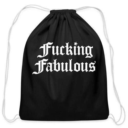 Fucking Fabulous - Cotton Drawstring Bag