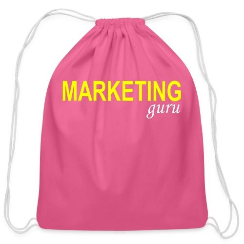 Marketing Guru - Cotton Drawstring Bag
