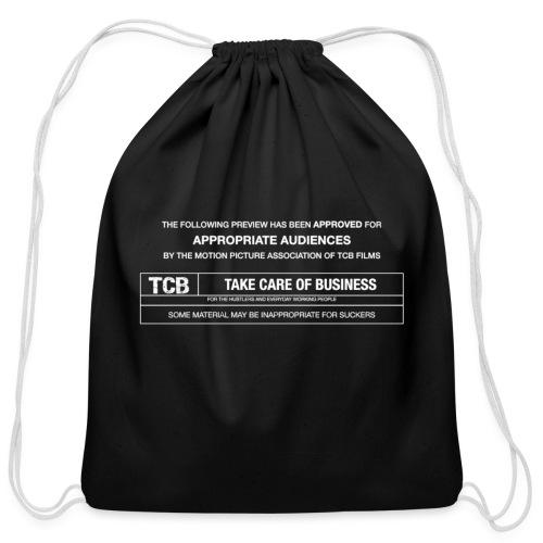 TCB Films Disclamer - Cotton Drawstring Bag