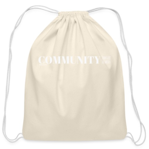 Community Thought Leaders - Cotton Drawstring Bag