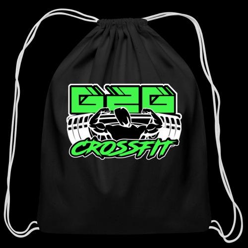 Electrifying Green Full G2G Logo - Cotton Drawstring Bag