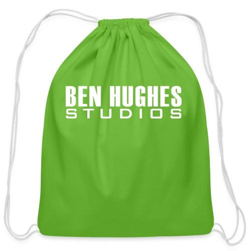 Ben Hughes LOGO png - Cotton Drawstring Bag