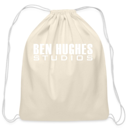 Ben Hughes LOGO png - Cotton Drawstring Bag