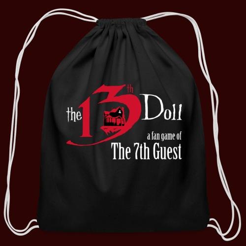 The 13th Doll Logo - Cotton Drawstring Bag