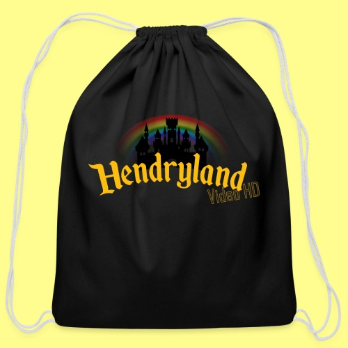 HENDRYLAND logo Merch - Cotton Drawstring Bag