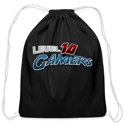 Level10Gamers Logo - Cotton Drawstring Bag