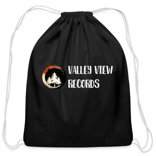 Valley View Records Official Company Merch - Cotton Drawstring Bag