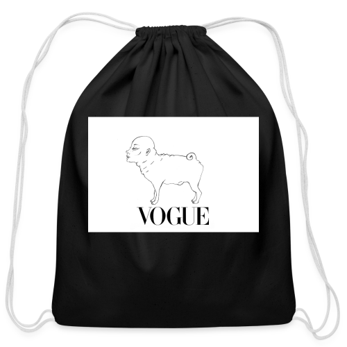 VOGUE - Cotton Drawstring Bag