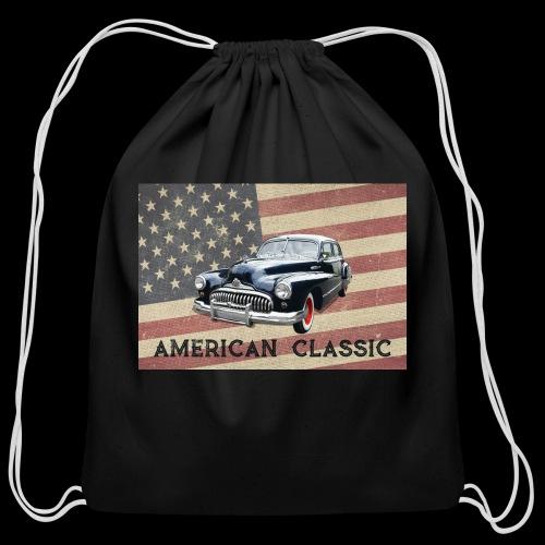 Classic Buick - Cotton Drawstring Bag
