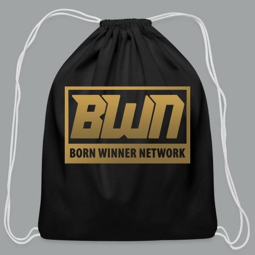 BWN (Gold) - Cotton Drawstring Bag