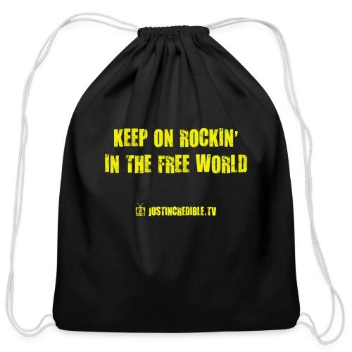 KORITFW yellow - Cotton Drawstring Bag