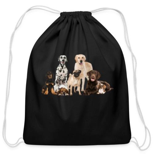 German shepherd puppy dog breed dog - Cotton Drawstring Bag