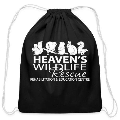 HWR White - Cotton Drawstring Bag