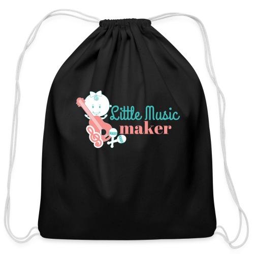 Music Maker (Girl) - Cotton Drawstring Bag