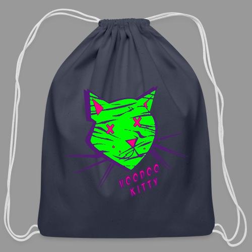 Voodoo Kitty - Cotton Drawstring Bag