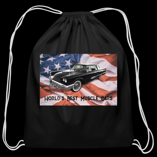 World's Best Muscle Cars - Cotton Drawstring Bag