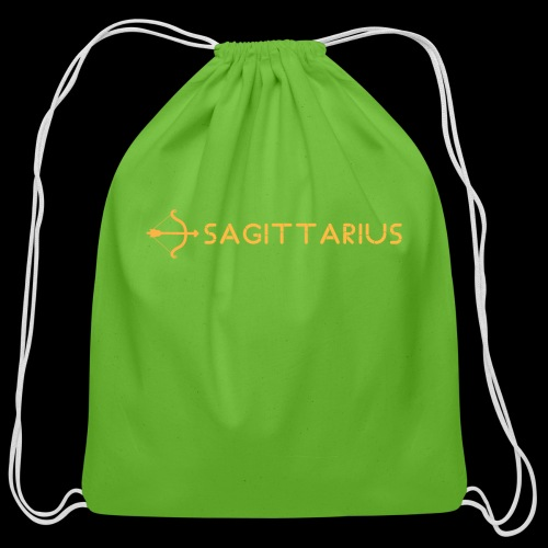 Sagittarius - Cotton Drawstring Bag