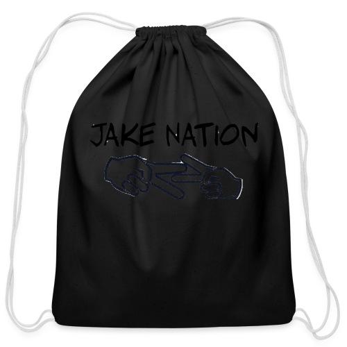 Jake nation shirts and hoodies - Cotton Drawstring Bag