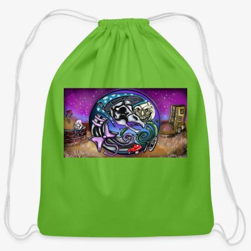 Mother CreepyPasta Land - Cotton Drawstring Bag