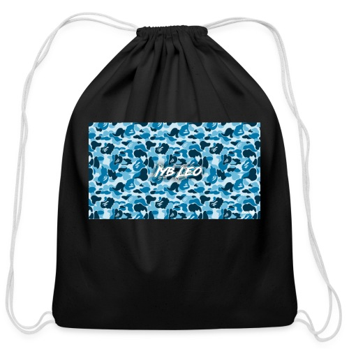 Iyb leo bape logo - Cotton Drawstring Bag