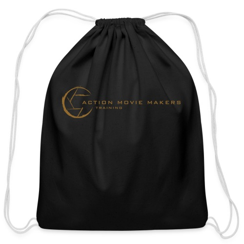 AMMT Logo Modern Look - Cotton Drawstring Bag